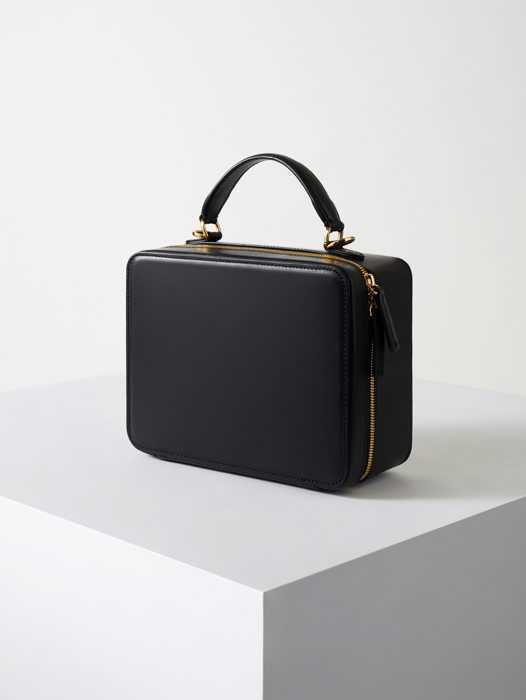 Square Bag--Ebony Black(B grade)