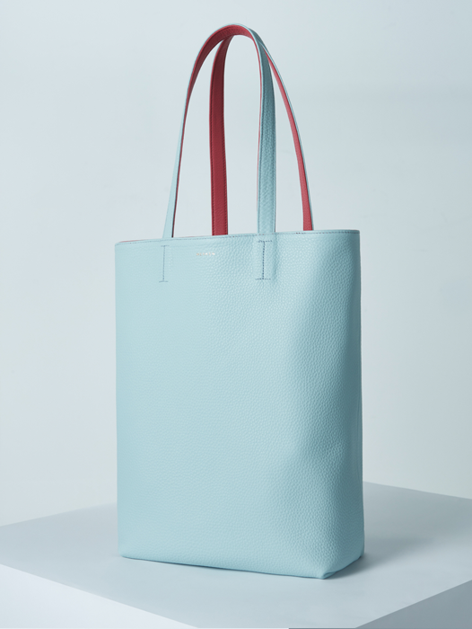 Shopper Bag - Dark Pink / Sky Blue(SOLD OUT)
