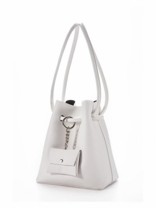 Curvy bag - Pale White