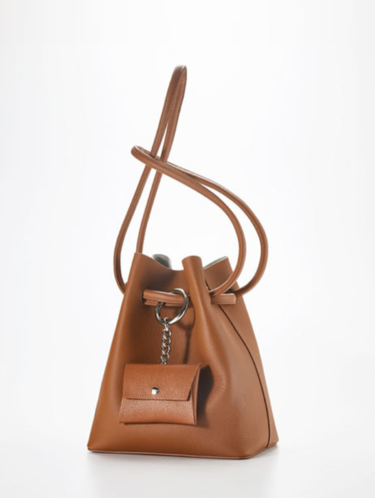 Curvy bag - Camel