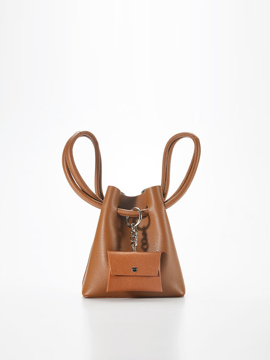 Curvy Candy bag - Camel