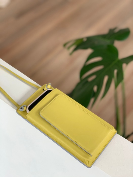 [PREORDER] Classic Flat Purse - Limelight
