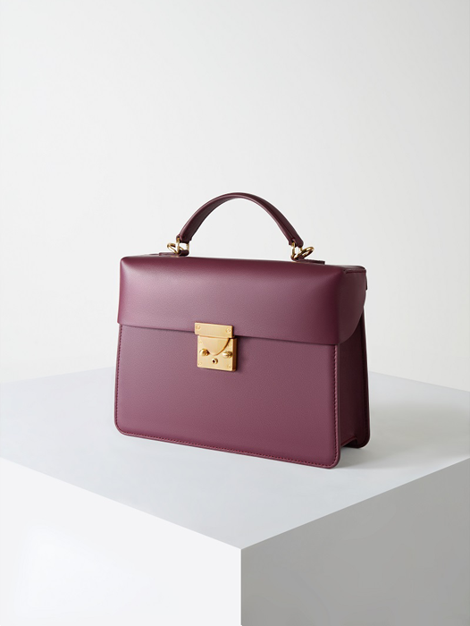 Box Bag-Violet Purple