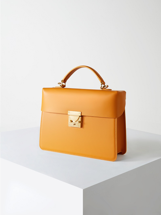 Box Bag-Mustard(SOLD OUT)