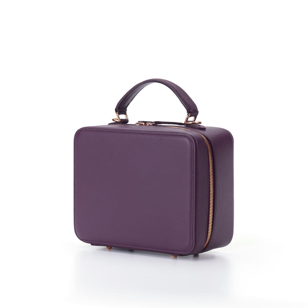 Square Bag--Violet Purple(B grade)