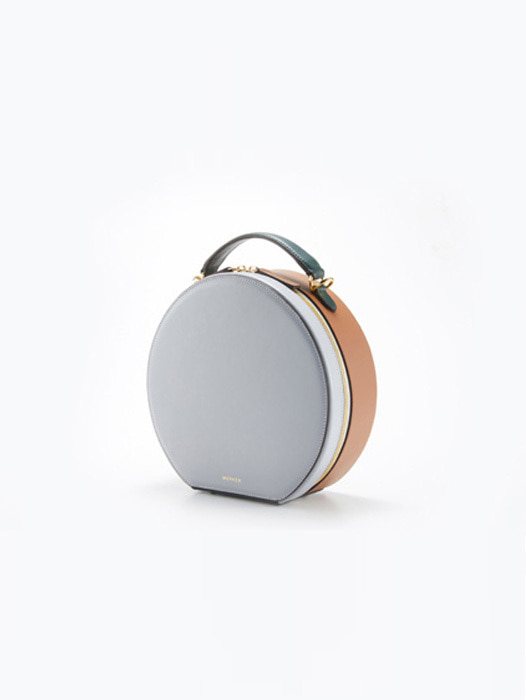Circle Bag - Crystal Grey / Camel Tan(REORDER)