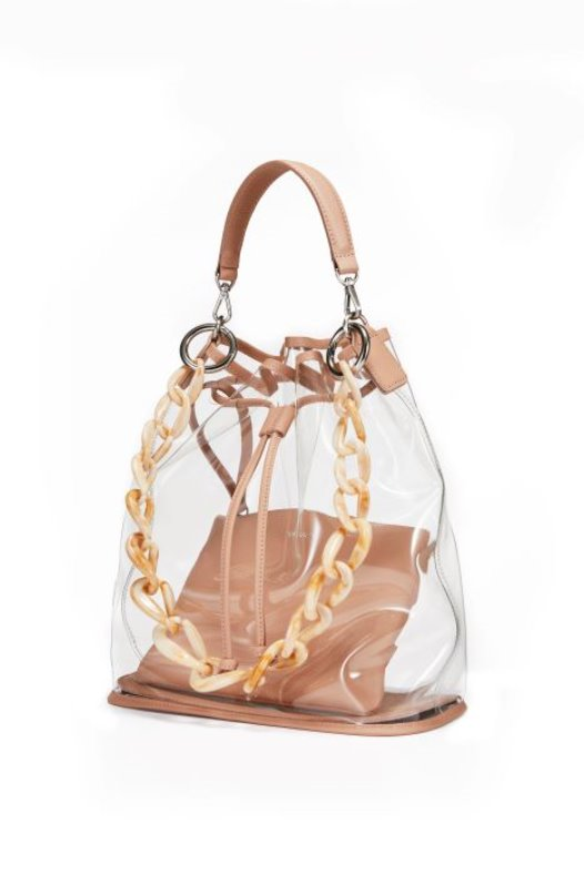 See Through Bag - Pink Beige