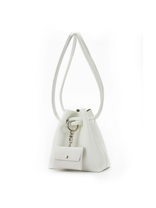 Curvy Candy bag - Pale White