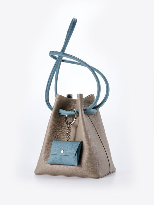 Curvy bag - Cacao Combie(SOLD OUT)