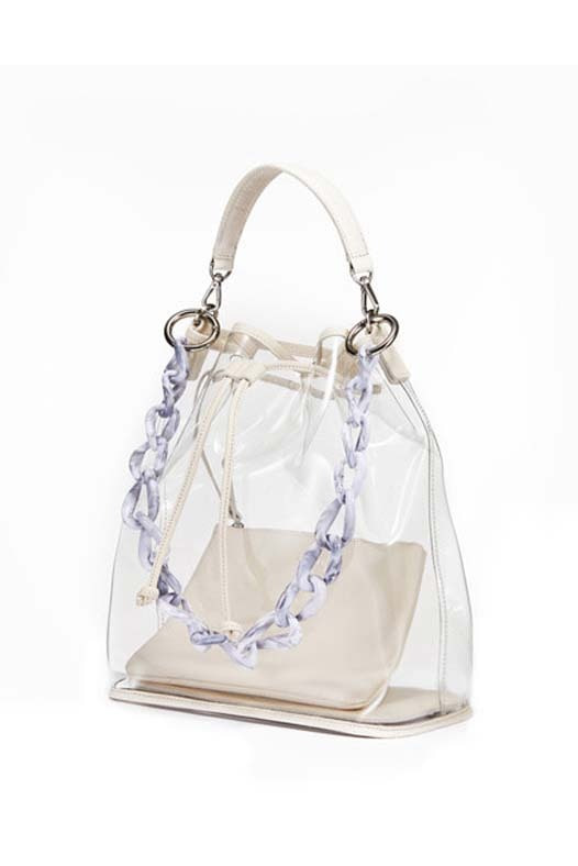 See Through Bag - Cream Ivory (SOLD OUT)