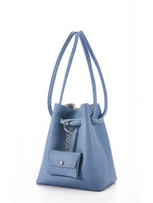 Curvy bag - Bluelin(REORDER)
