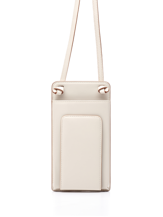 Classic Flat Purse - Cream